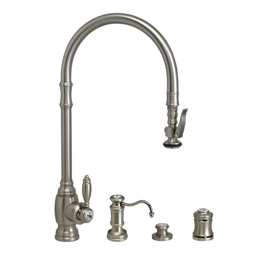 Waterstone Deck Mount Kitchen Faucets item 5500-4-MB