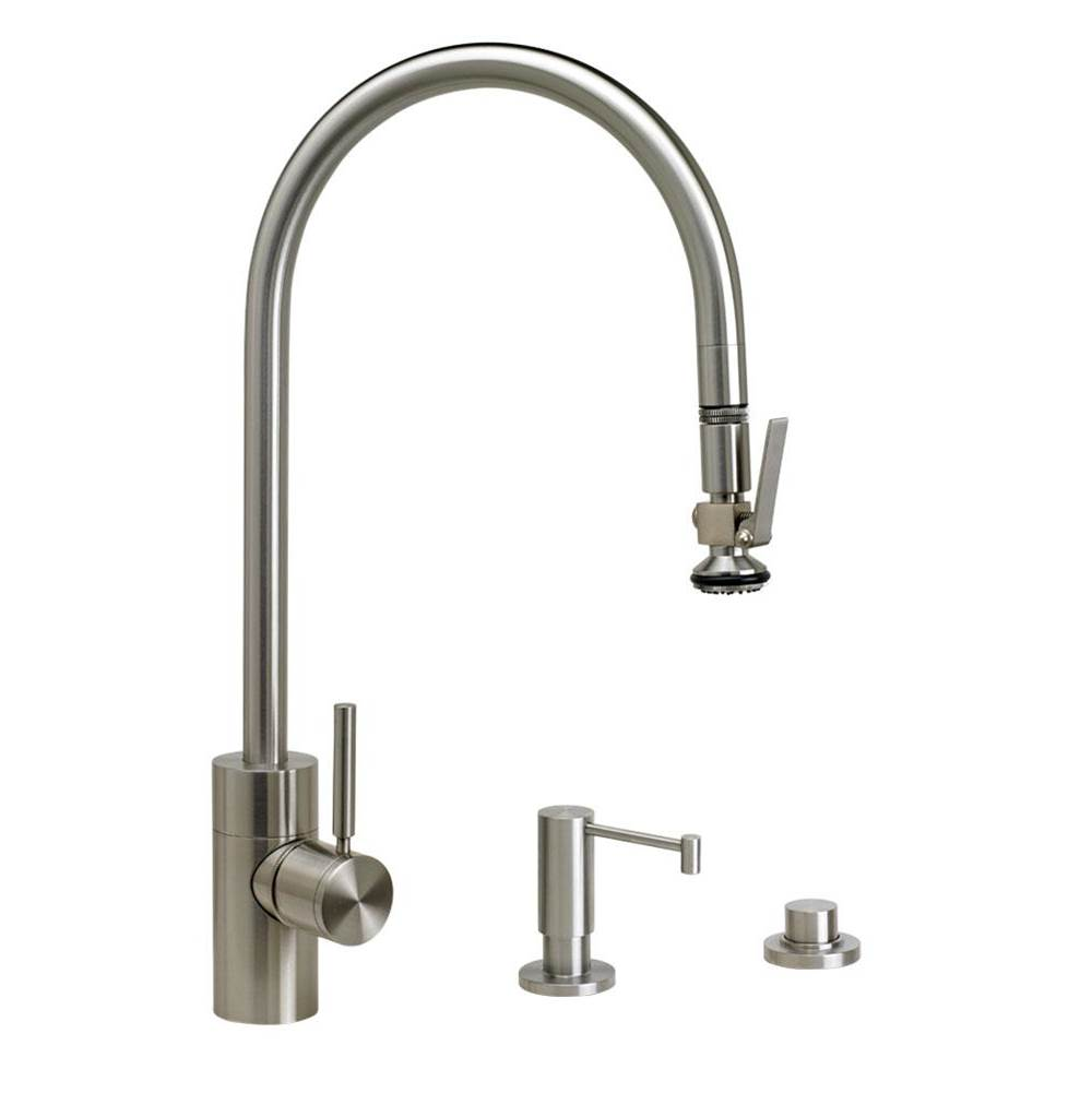 Waterstone Deck Mount Kitchen Faucets item 5700-3-BLN