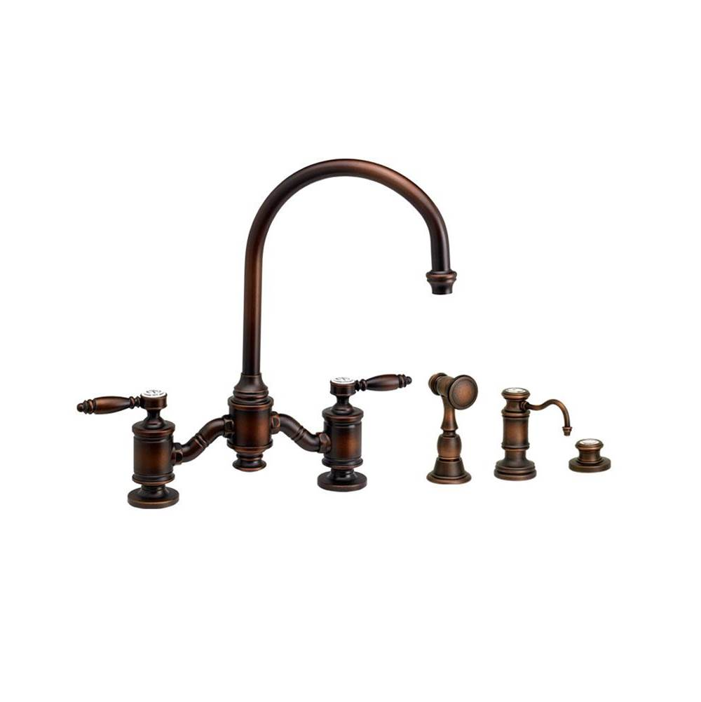 Waterstone Bridge Kitchen Faucets item 6300-3-MB
