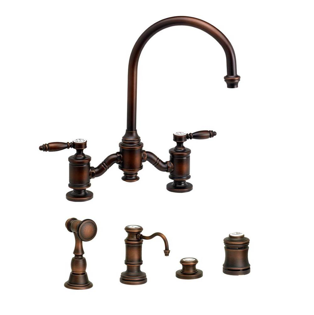 Waterstone Bridge Kitchen Faucets item 6300-4-ORB