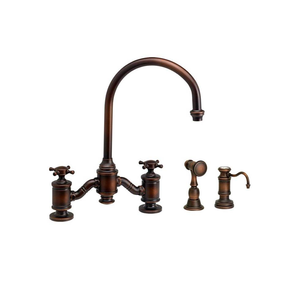 Waterstone Bridge Kitchen Faucets item 6350-2-DAC