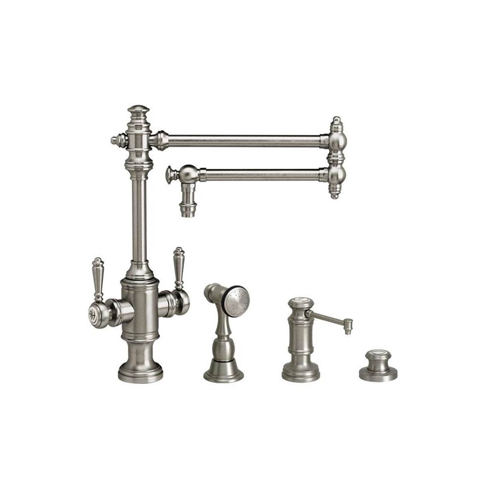 Waterstone Single Hole Kitchen Faucets item 8010-18-3-AP