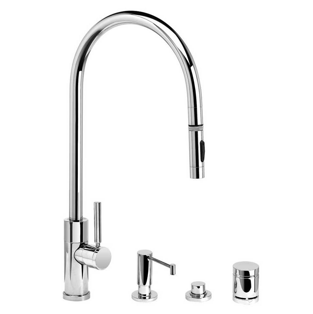 Waterstone Pull Down Faucet Kitchen Faucets item 9350-4-ABZ