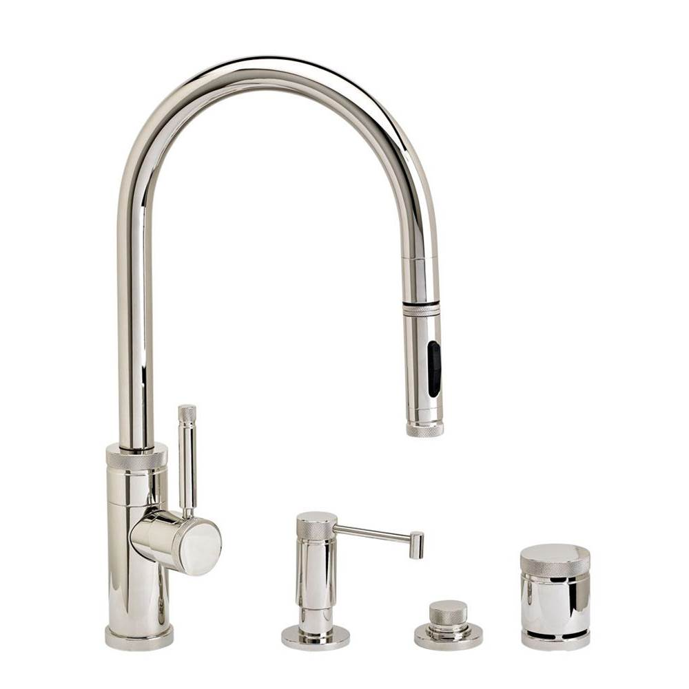 Waterstone Pull Down Faucet Kitchen Faucets item 9400-4-BLN